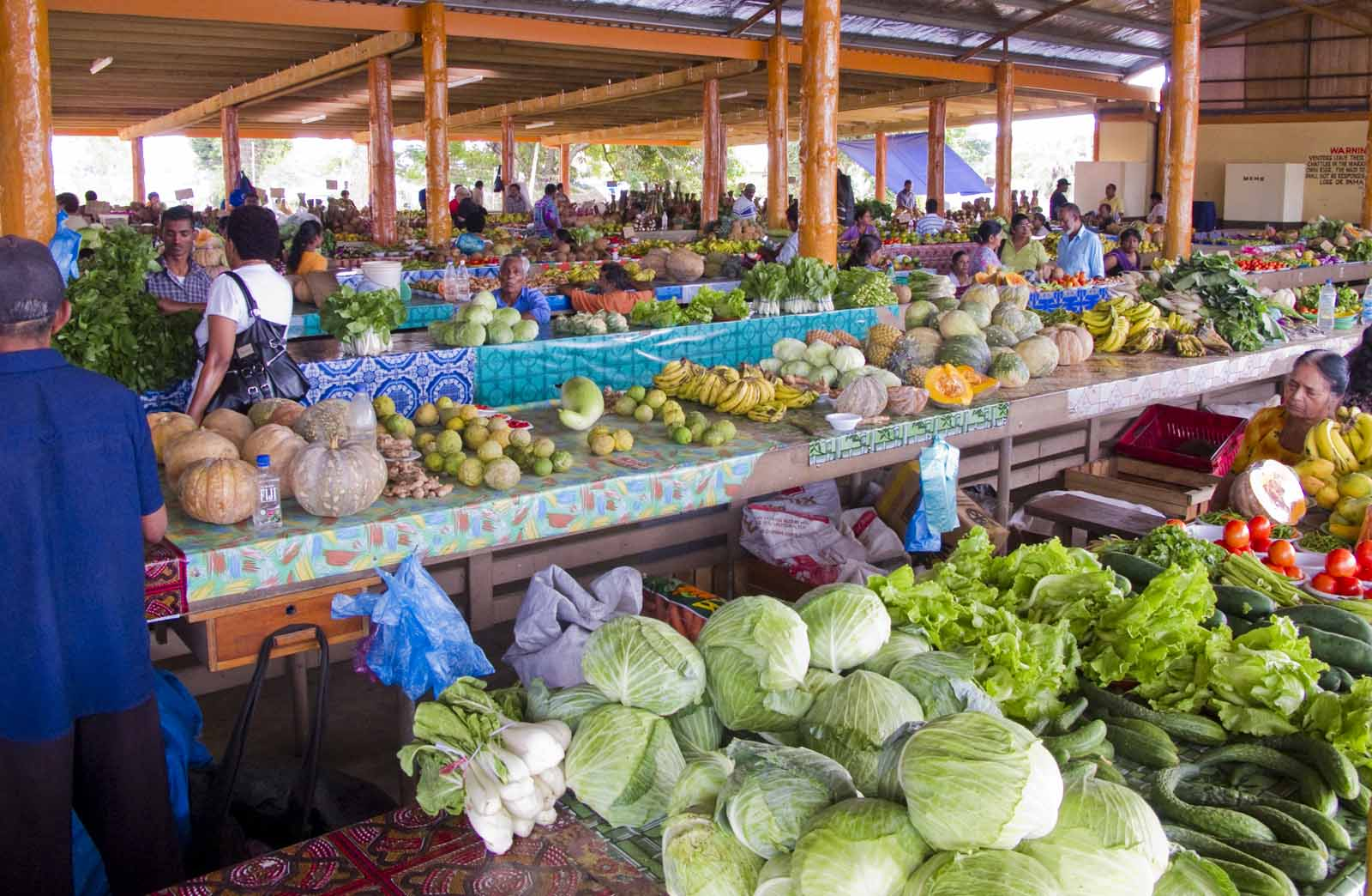 The Nadi market