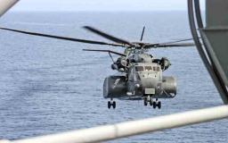 Huge helicopter landing on the USS Peleliu