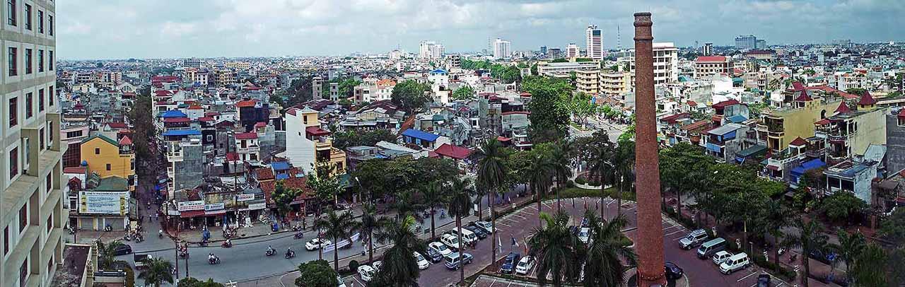 View from the Hanoi Horison Hotel