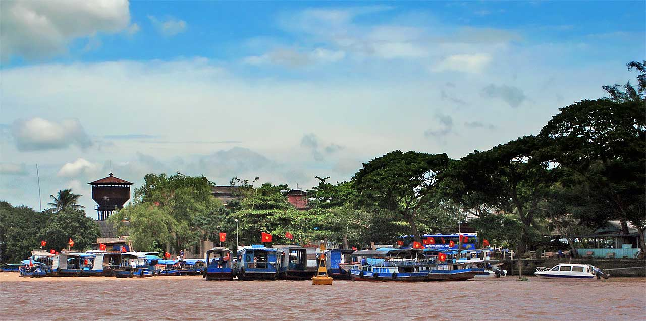 Red flags aplenty - The Mekong RIver Delta
