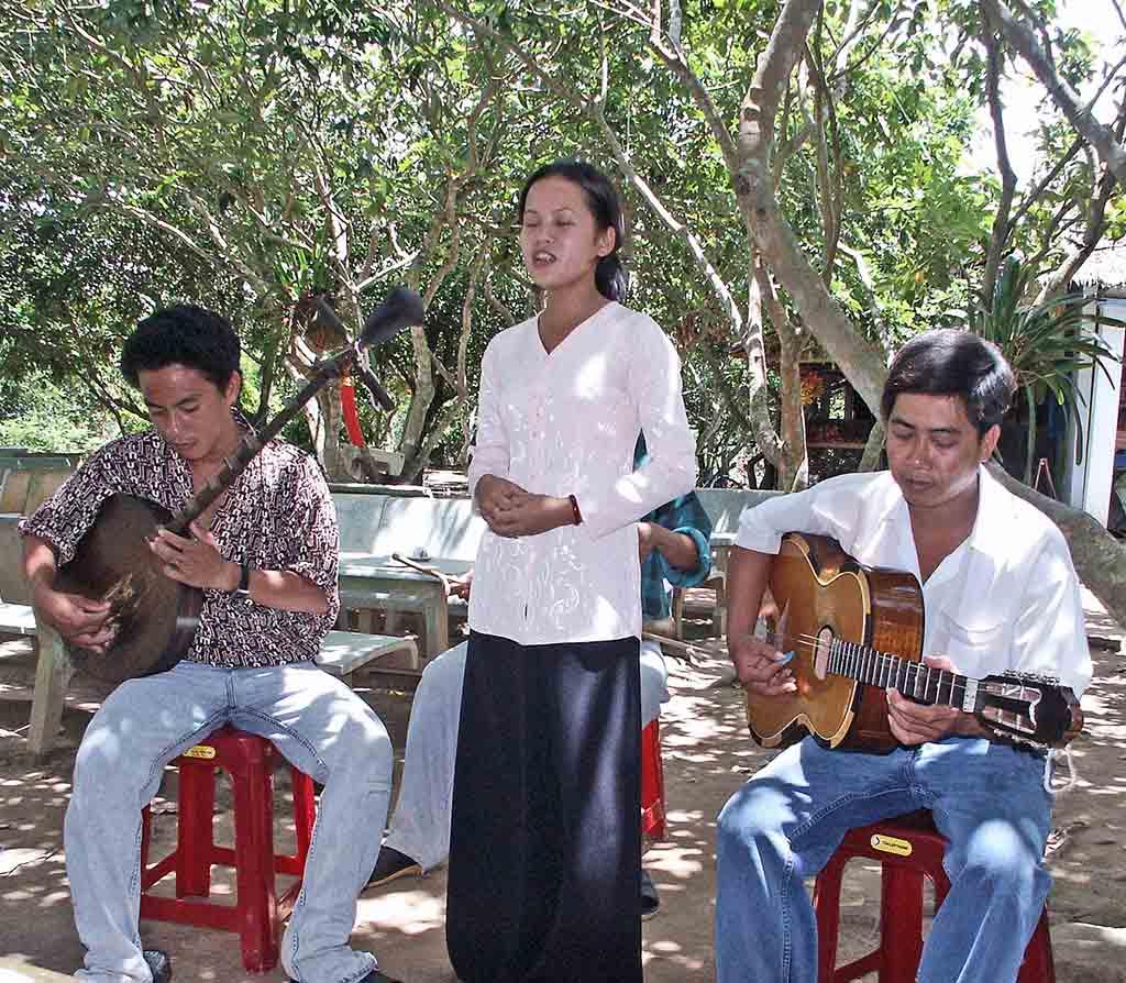 A Mekong Delta village entertainer