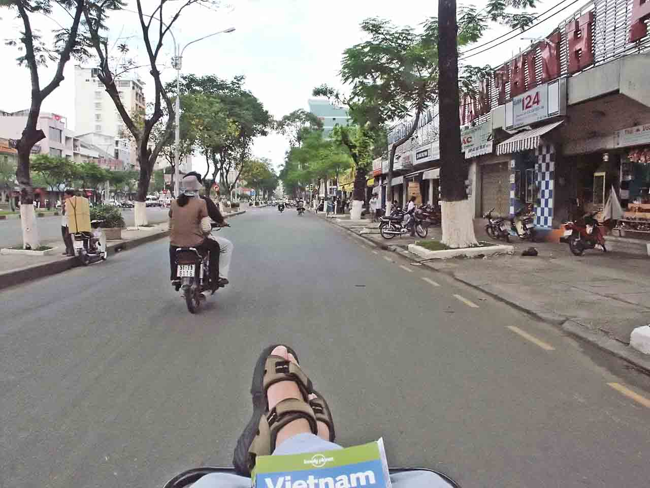 Travelling in style in Saigon